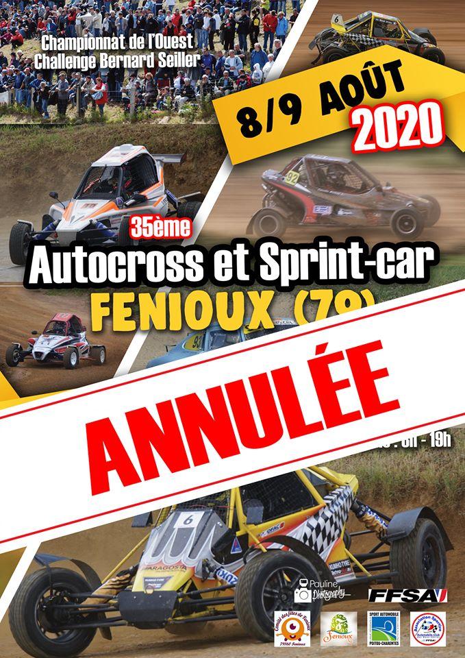 Calendrier Autocross 2021 Communiqué   Jeudi 23 Avril 2020   ASA Auto cross de l'ouest